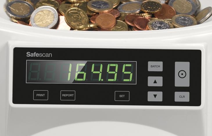 Compteuse trieuse de pièces 1250