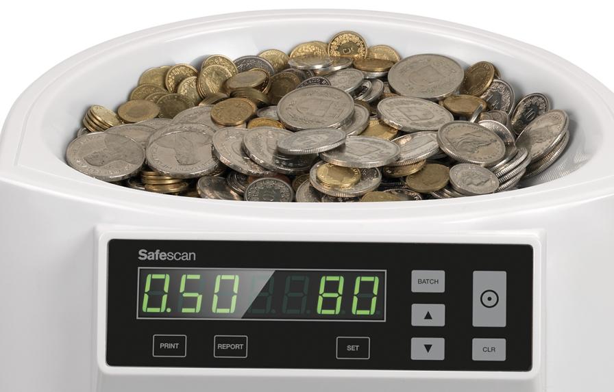 Capacitá tramoggia di 300-500 monete