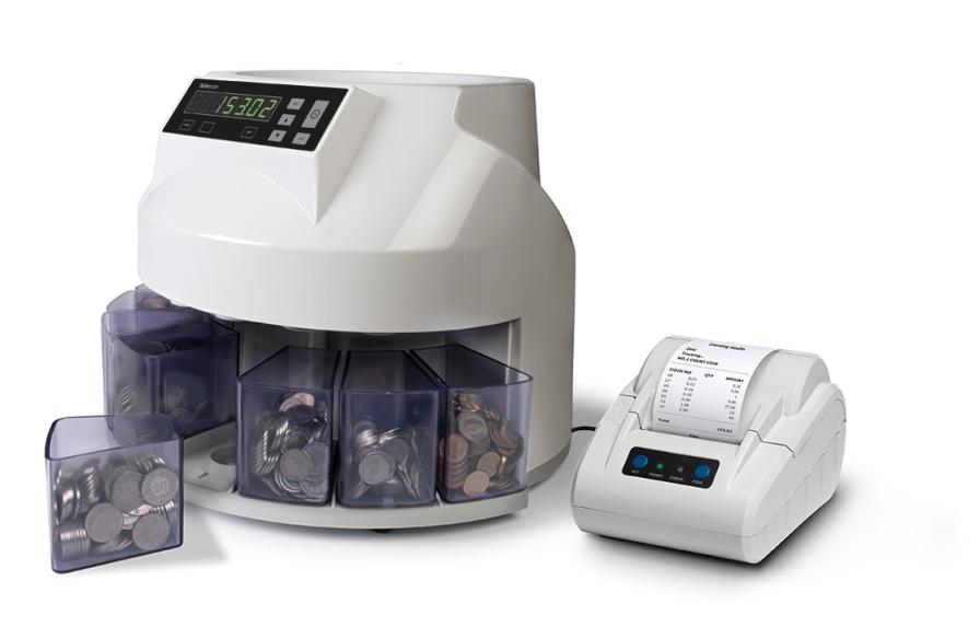 Stampate i resultati di conteggio sul stampante Safescan TP-230