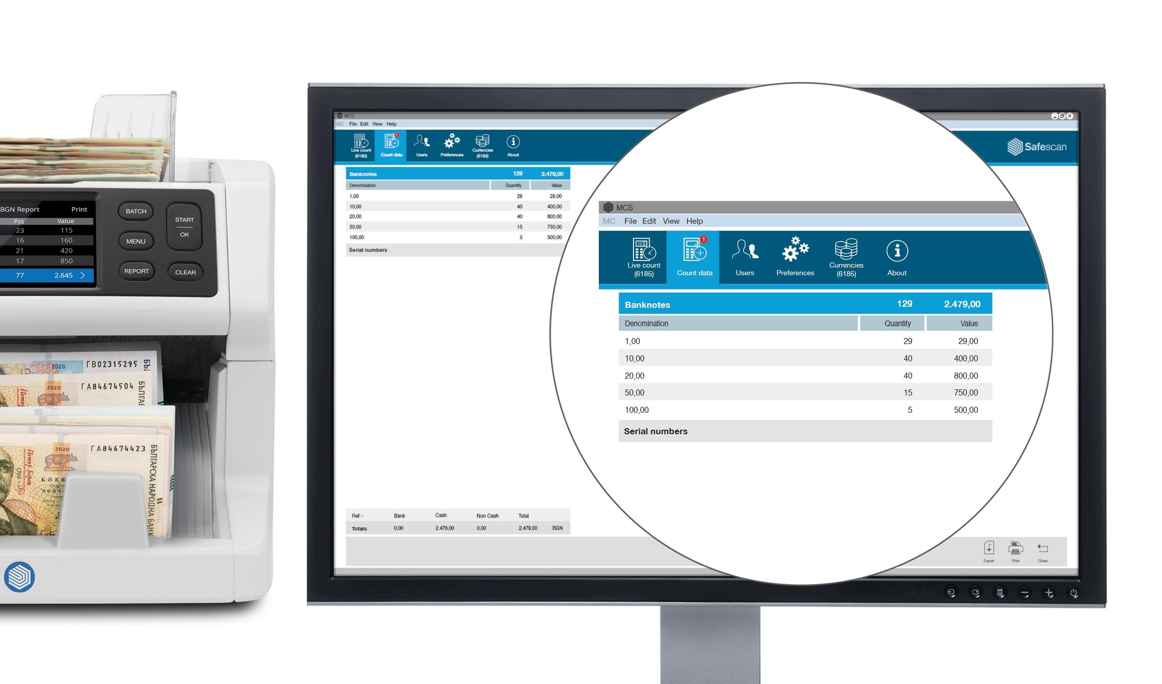 safescan-mcs-software