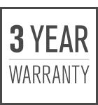 3-Jahres-Garantie