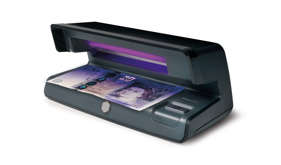 Uv Counterfeit Detector Safescan 50 Black Verifiying