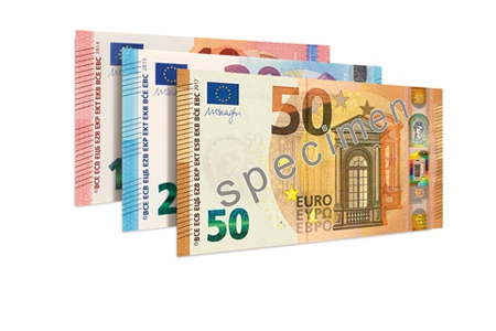 neue 50 euro banknote. Black Bedroom Furniture Sets. Home Design Ideas