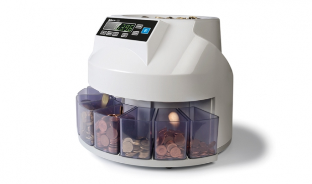 Coin counter and sorter for mixed coins