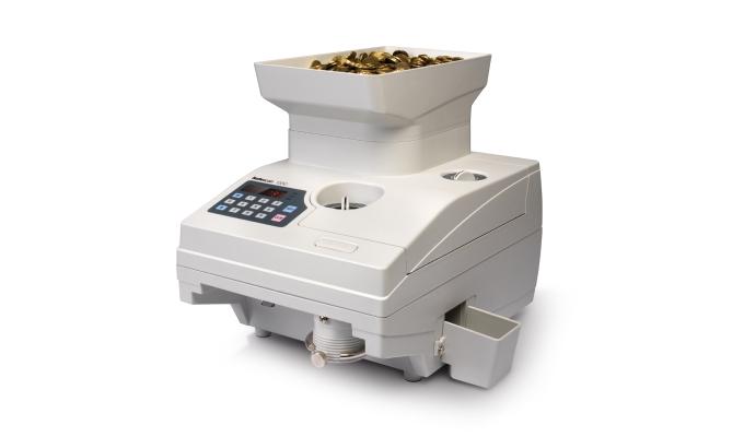 Hochgeschwindigkeitszähler für Münzen, verarbeitet bis zu 2.300 Münzen pro Minute
