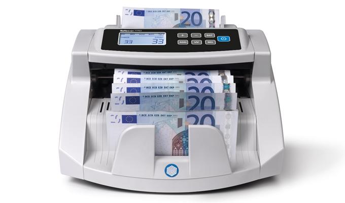 Conta fino a un massimo di 1.000 banconote al minuto