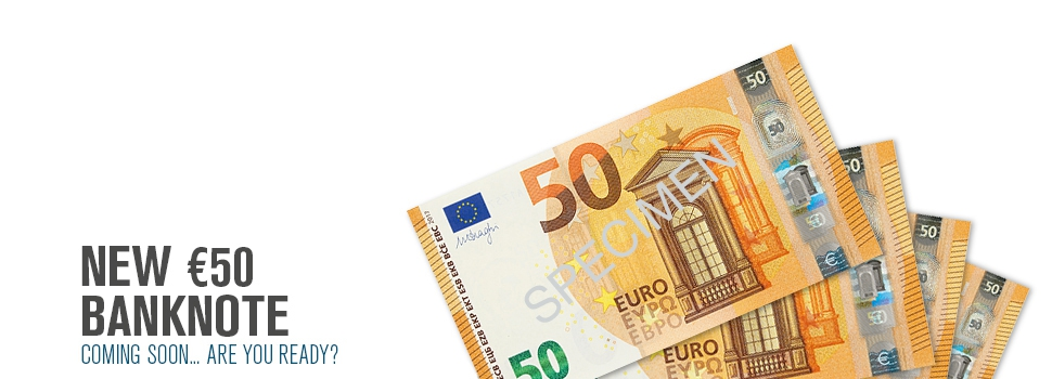 New 50 Euro IE
