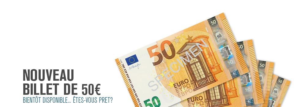 New 50 Euro FR