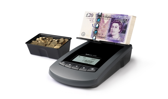 3 default currencies: EUR, GBP and CHF. Other currencies available via update software