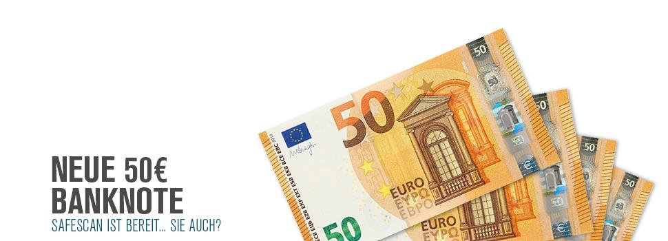 New 50 Euro DE