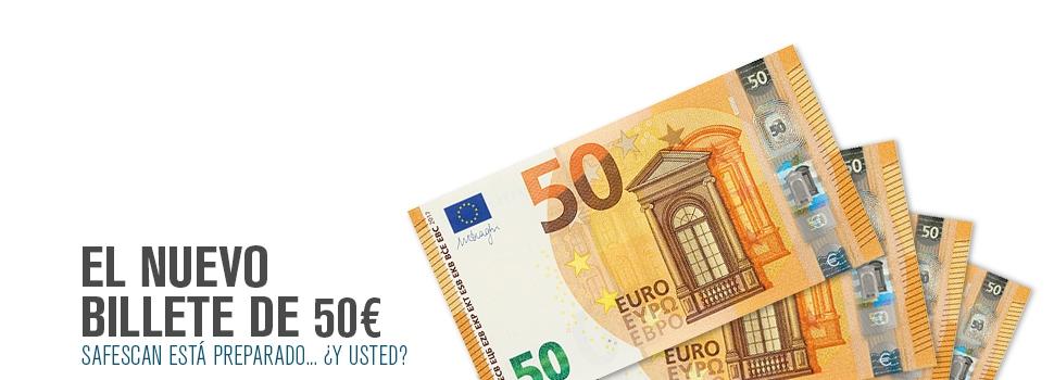 New 50 Euro ES