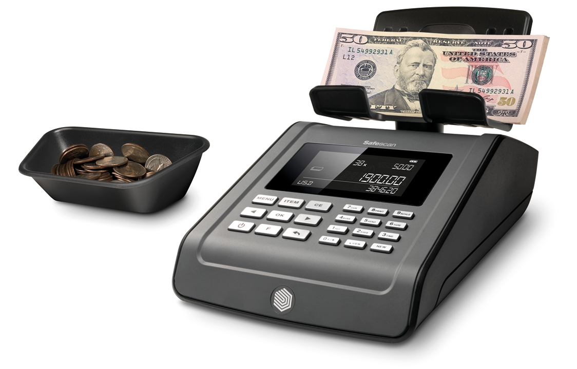 How Do Money Scales Work  Counting Money by Weight  Safescan