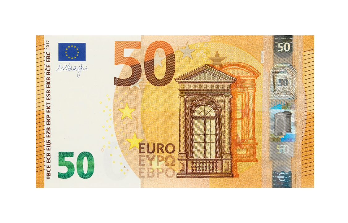 the new 50 euro banknote. Black Bedroom Furniture Sets. Home Design Ideas